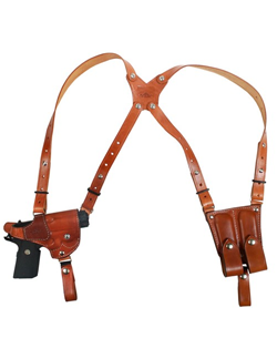 Shoulder Holsters - Superior Highest Quality - Handmade Premium Grade A Leather - Proudly Made In  The USA (Rare, No One Does This  Besides Us).