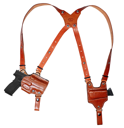 Open Top Angled Shoulder Rig Angled Holster Includes 1
