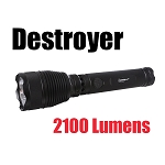 Destroyer 2100 Lumen LED Flashlight