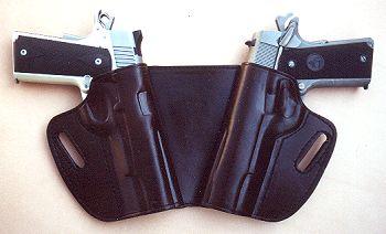 Western knife belt holster