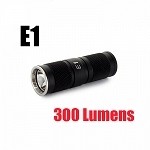 E1 LED Keychain with CREE XM-L LED 300 Lumens-Uses 1 x CR123A