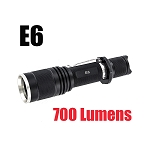 E6 700 Lumen LED Flashlight