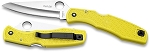 Spyderco Pacific Salt Yellow FRN