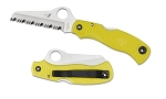 Spyderco Saver Salt Yellow FRN