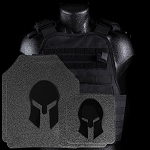Spartan Armor/Condor Defender Extra Large Plate Carrier and 11x14 AR550 Body Armor Platform - Call 954-804-4381 with ordering questions.