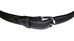 CLASSIC STITCHED DOUBLE THICK REINFORCED LEATHER GUN BELT