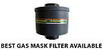 MESTEL 40MM FILTER CBRN (CHEMICAL, BIOLOGICAL, RADIOLOGICAL, AND NUCLEAR) HIGHEST END FILTER - PAYPAL ONLY