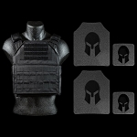AR650 Armaply Body Armor and Shooters Cut Spartan Plate Carrier Package *SPECIAL