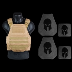 AR500 Body Armor and Spartan Swimmers Cut Plate Carrier Package *SPECIAL - Call 954-804-4381 with ordering questions.