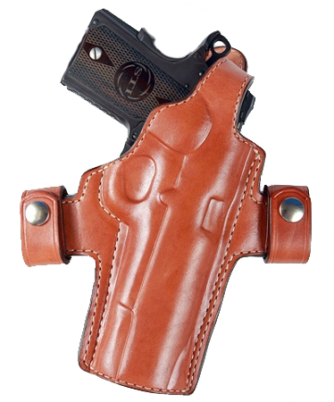 THUMB BREAK - RETAINING STRAP TO SAFELY KEEP GUN IN HOLSTER