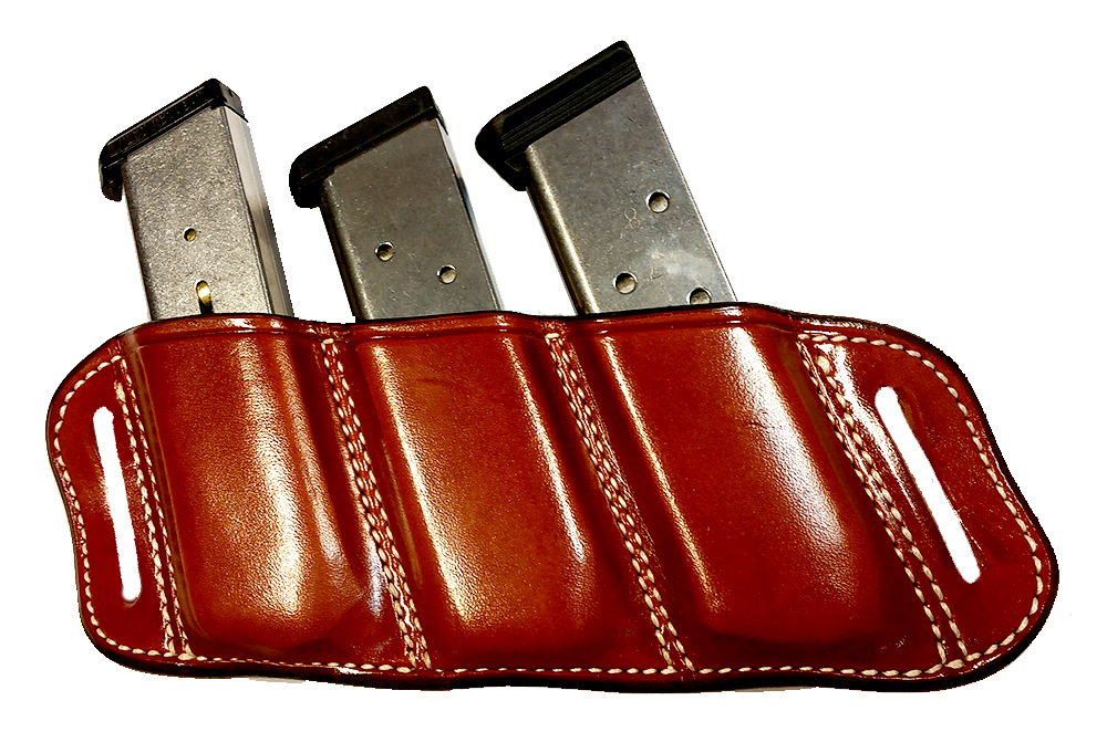 HOLSTERS - TRIPLE MAGAZINE POUCH