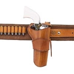 1880'S HOLSTER STRONGSIDE