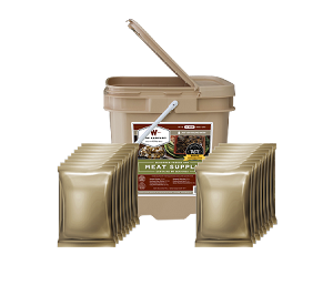 60 Serving Gourmet Freeze Dried Meat - Wise Company