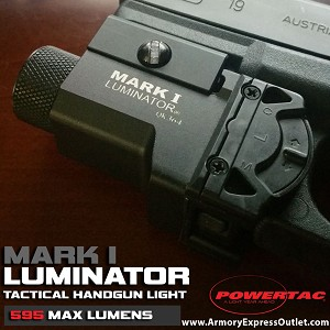MARK I LUMINATOR - 595 LUMEN PISTOL LIGHT