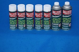 Package 5 - 6 6 oz. Aerosol cans and 2 16 oz.non-aerosol cans 8 cans in total