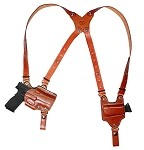 Open Top Angled Shoulder Rig. Angled Holster. Includes 1 Horizontal Magazine Pouches. Click Here.