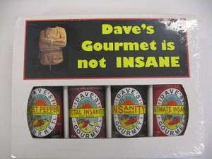 4 Pack Gift Box - Dave's Gourmet Is Not Insane