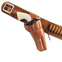 1880'S HOLSTER CROSSDRAW