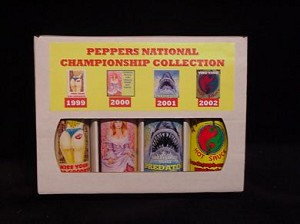 4 Pack Gift Box - Peppers National Champions - Yellow Label