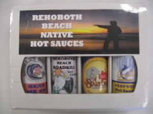 4 Pack Gift Box - Rehoboth Beach Native Hot Sauces