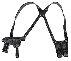 RL-SH05 - Shark Double Shoulder Holster