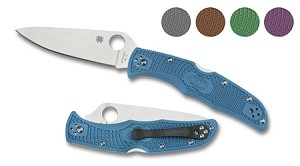 Spyderco Endura4 Flat Ground FRN
