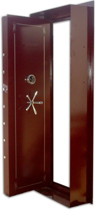 "PLATINUM LEVEL HANDMADE CUSTOM VAULT DOOR - 1/2"" STEEL PLUS EXTRA... PLEASE CALL 954-804-4381 - ARMORY EXPRESS OUTLET"